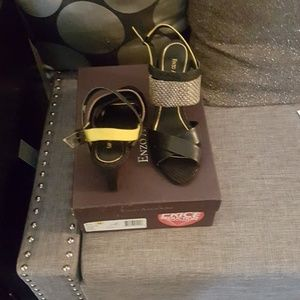 Enzo Angiolini wedge sandal 8.5M new in box